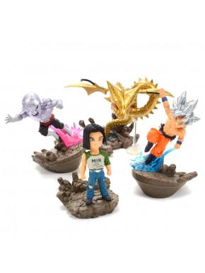Set de Figuras Dragon Ball Super WFC Banpresto 7 cm