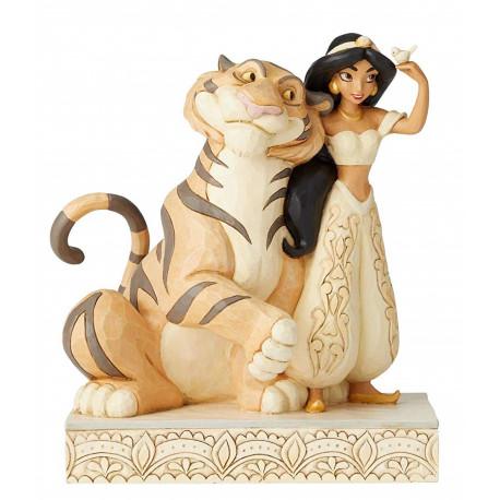 Figura Jasmine & Rajah Jim Shore Aladdin Disney