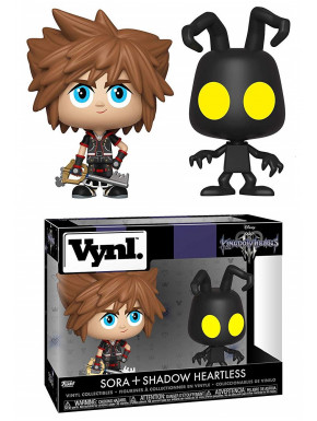 Set Figuras Sora & Heartless Kingdom Hearts Funko VYNL