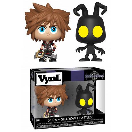 Set Figuras Sora & Heartless Kingdom Hearts Funko VYNL