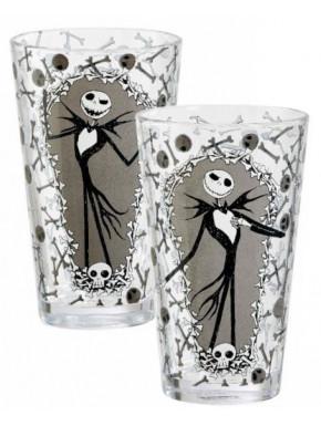 Pack de 2 vasos Jack & Bones Pesadilla Antes de Navidad