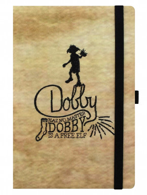 Libreta A5 Dobby Libre Harry Potter