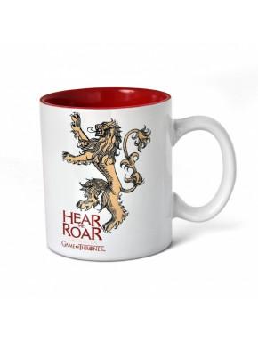 Taza desyuno Lannister blanco y rojo