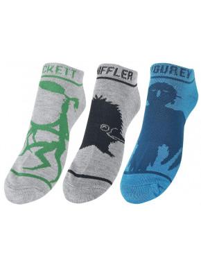 Pack de 3 pares de calcetines Animales Fantásticos