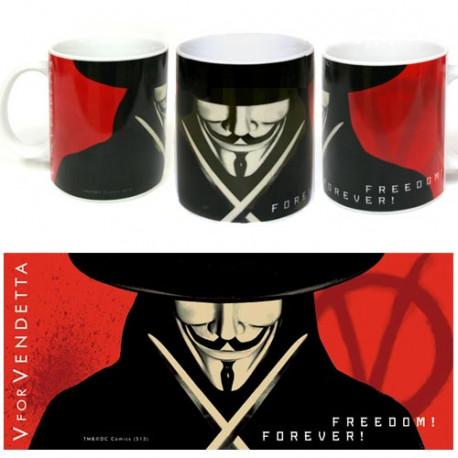Taza Freedom V de Vendetta