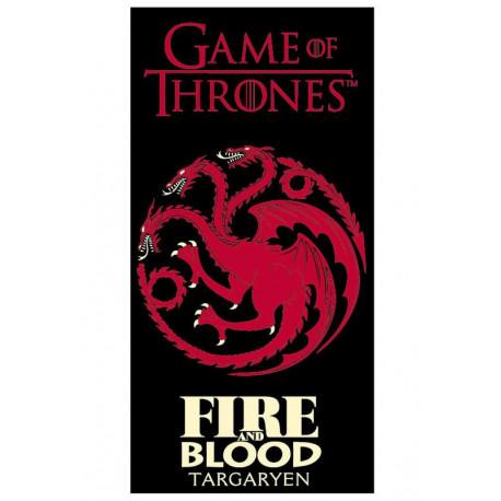 Toalla Targaryen Juego de Tronos