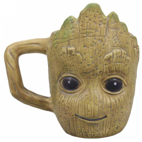 Taza 3D Groot Marvel