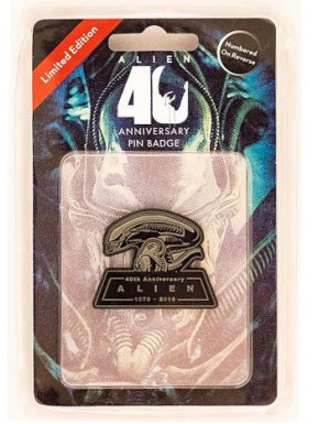 Chapa Alien 40th Aniversario