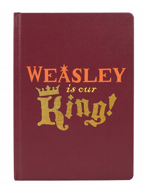 Libreta A5 King Weasley Harry Potter