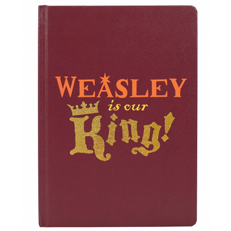 Cuaderno A5 WEASLEYHarry Potter