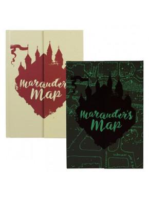 Cuaderno Harry Potter Mapa del Merodeador