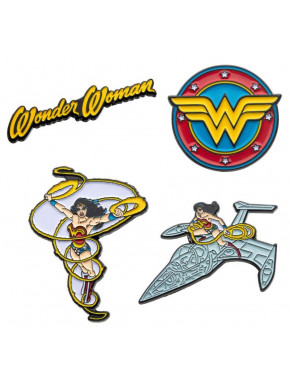 Pack de Pins Wonder Woman DC Comics