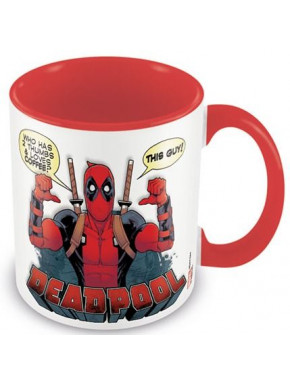 Taza Deadpool Marvel Comics