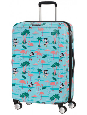 Maleta 4 Ruedas Minnie en Miami Disney American Tourister 67 cm