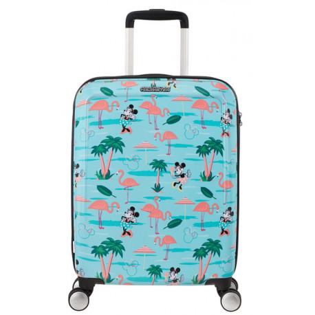 Maleta 4 Ruedas Minnie en Miami Disney American Tourister 55 cm