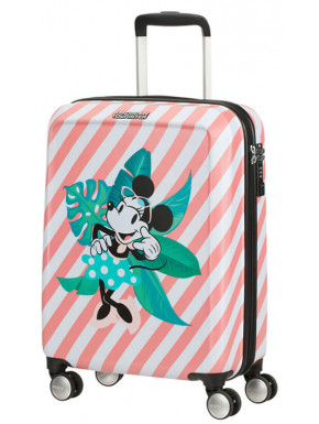 Maleta 4 Ruedas Minnie en Miami Holiday Disney American Tourister 55 cm