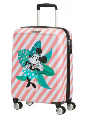 Maleta 4 Ruedas Minnie en Miami Holiday Disney American Tourister 55 cm