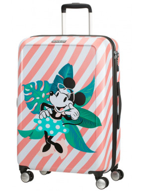 Maleta 4 Ruedas Minnie en Miami Holiday Disney American Tourister 67 cm