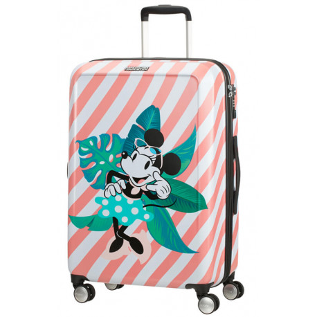 Maleta 4 Ruedas Minnie en Miami Holiday Disney American Tourister 67 cm