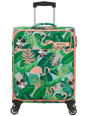 Maleta 4 Ruedas Minnie Miami Palms Disney American Tourister 55 cm