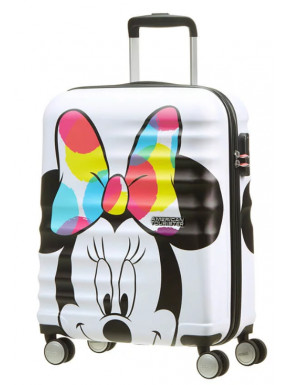 Maleta 4 Ruedas Minnie Power-Up Disney American Tourister 55 cm