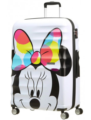 Maleta 4 Ruedas Minnie Close-Up Disney American Tourister 77 cm