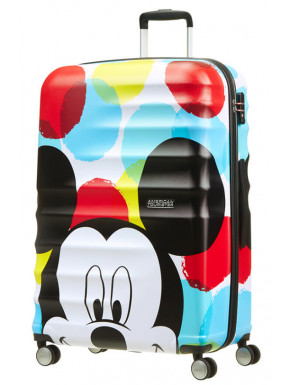 Maleta 4 Ruedas Mickey Close-Up Disney American Tourister 77 cm