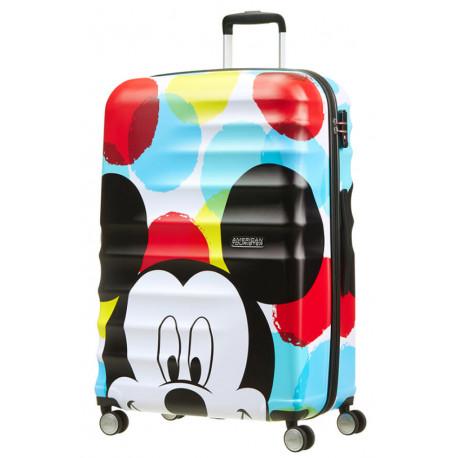 Maleta 4 Ruedas Mickey Close-Up Disney American Tourister 77 cm