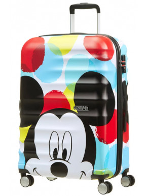 Maleta 4 Ruedas Mickey Close-Up Disney American Tourister 67 cm