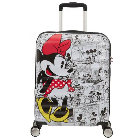 Maleta 4 Ruedas Minnie Comics Disney American Tourister 55 cm