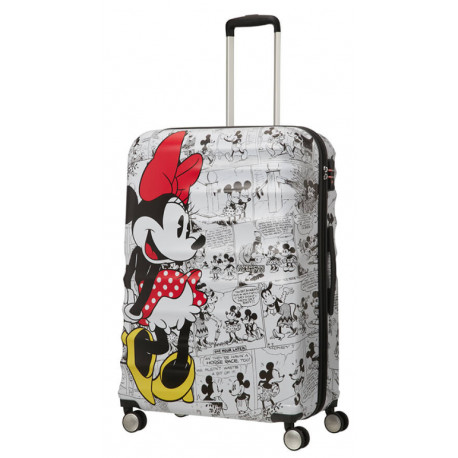 Maleta 4 Ruedas Minnie Comics Disney American Tourister 77 cm