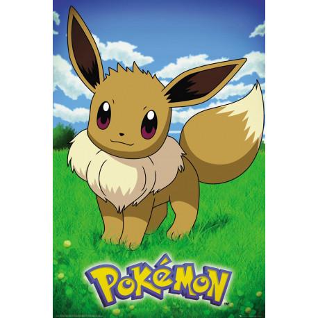 Póster Eevee  Pokemon 61 x 91 cm