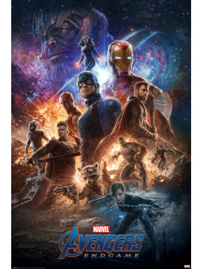 Póster Endgame Vengadores Marvel 61 x 91 cm