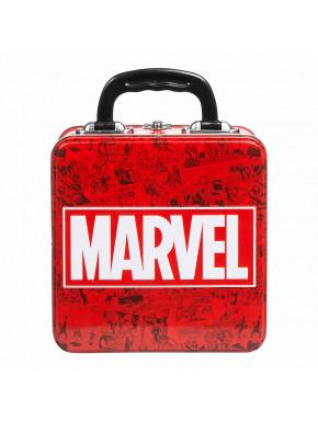 Caja Metálica Portameriendas Marvel