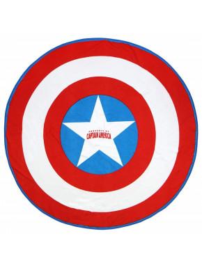 Toalla Redonda Capitán América Avengers