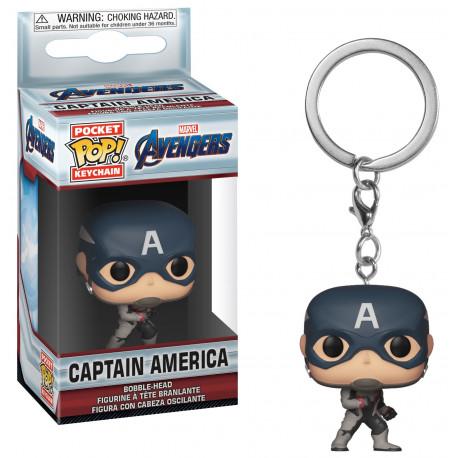 Llavero mini Funko Pop! Capitan America Endgame Avengers