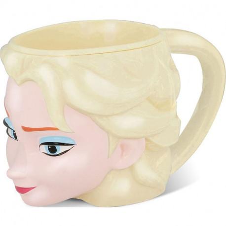 Taza 3D Elsa Frozen Disney