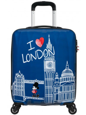 Maleta 4 Ruedas Mickey London Disney American Tourister 55 cm