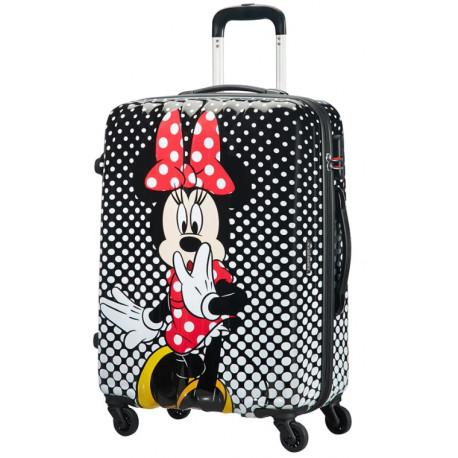 Maleta 4 Ruedas Minnie Lunares Disney American Tourister 55 cm