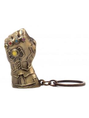 Llavero Metal Guantelete del Infinito Thanos Avengers Marvel