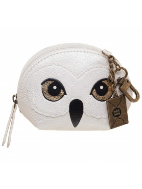 Cartera Monedero Hedwig con Abalorio Harry Potter