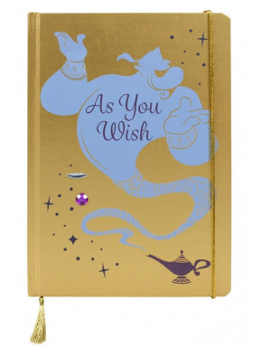 Libreta Genio As You Wish Aladdin Disney
