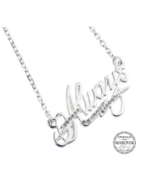 Colgante Plata y Swarovski Always Harry Potter