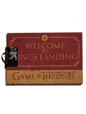 Felpudo coco Juego de Tronos Welcome to Kings Landing