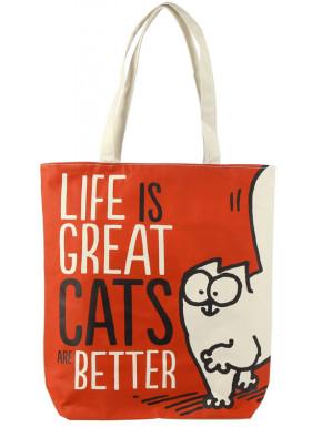 Bolsa de la compra Simon's Cat Life