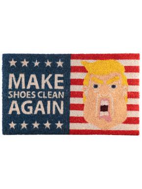 Felpudo coco Trump