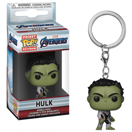 Llavero mini Funko Pop! Hulk Endgame Avengers