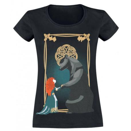 Camiseta Chica Merida & Bear Disney