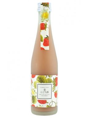 Licor de Sake Nigori de Fresa