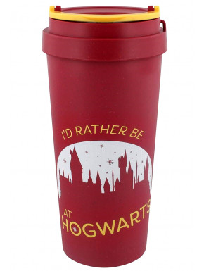 Taza de Viaje Eco Harry Potter Rather Be At Hogwarts
